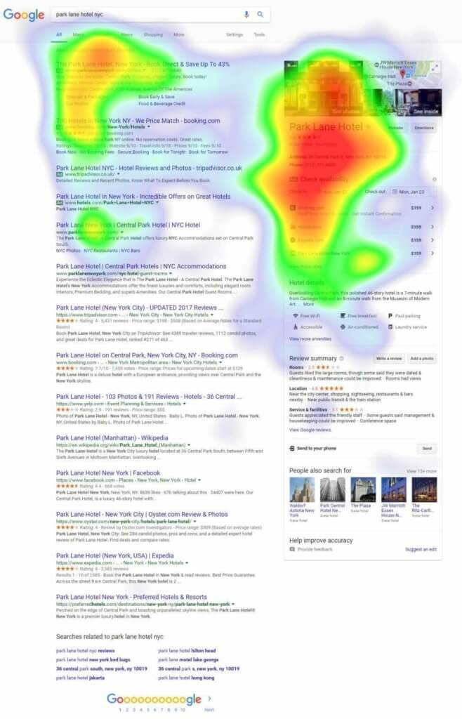 heat map google 2017