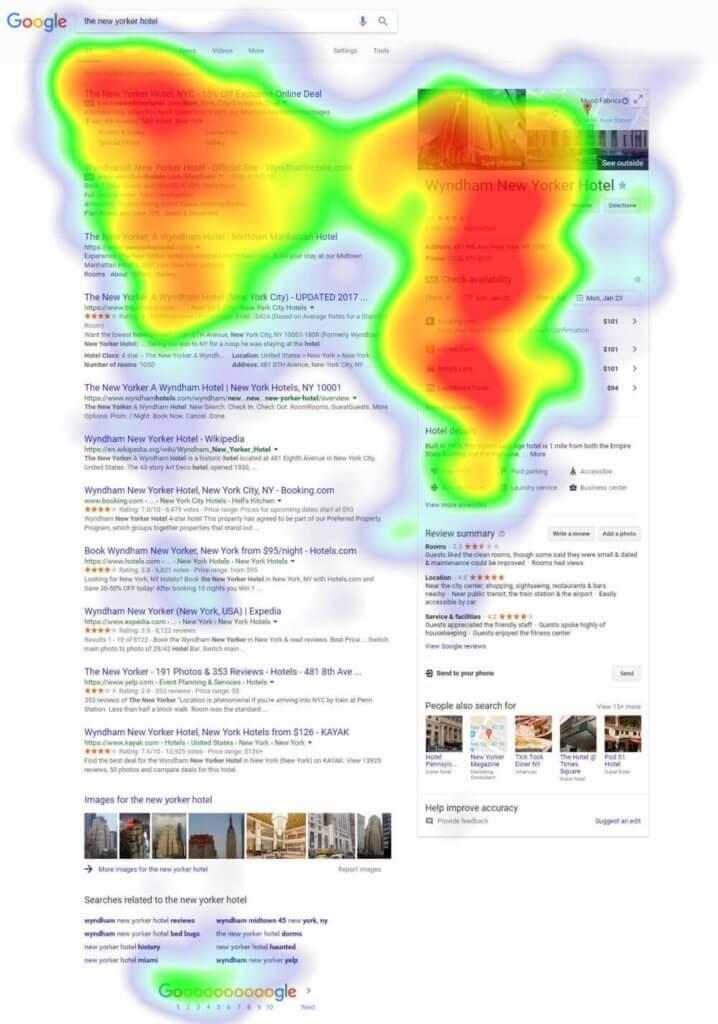 search hotel google