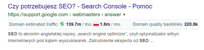 keyword surfer wtyczka seo do chrome